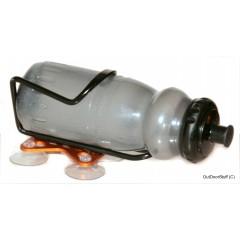 Flaske Holder m. sugekopper, for Kajak.