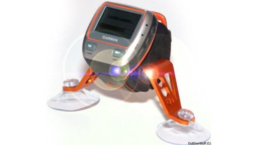 GPS urholder for kajak med sugekopper